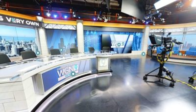 WGN TV News Studio 2