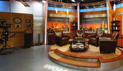 WGN Channel 9 News Studio