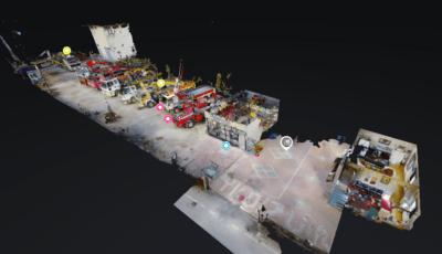 Yıldız Vinç Galeri 3D Lazer Tur