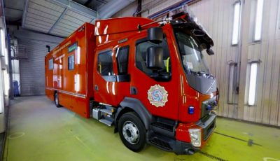 VOLVO Fire & Rescue Incident Command Unit