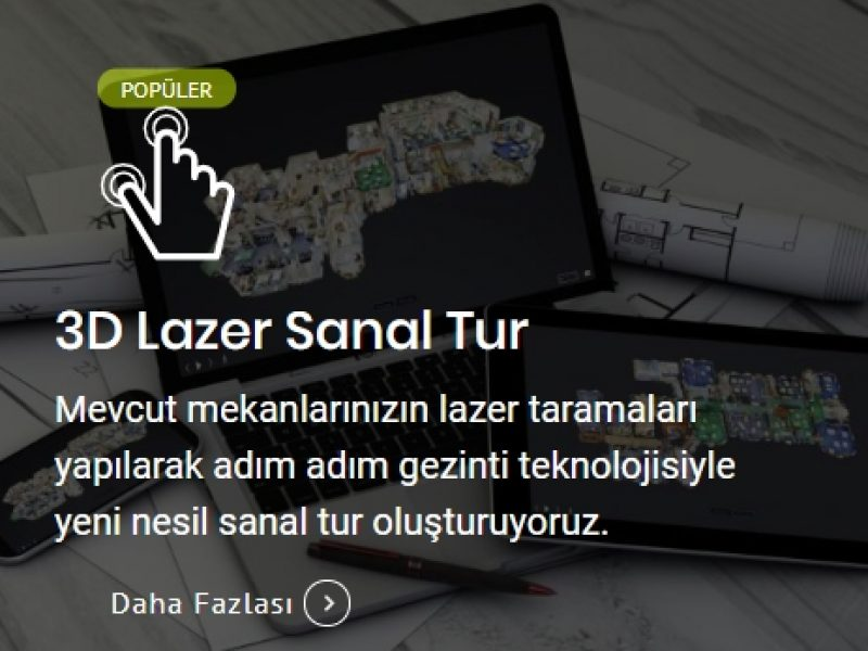 3D Lazer Sanal Turu
